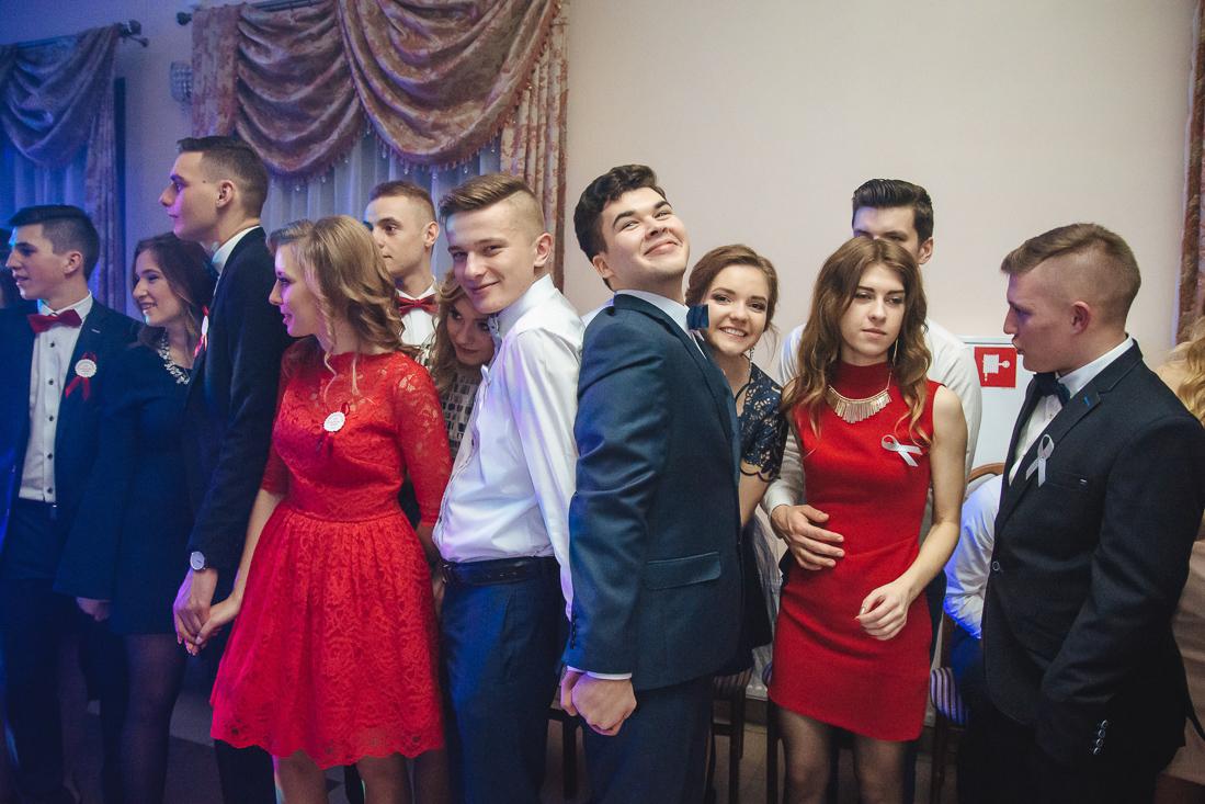 fotografia studniówkowa fotograf na studniówkę Pułtusk
