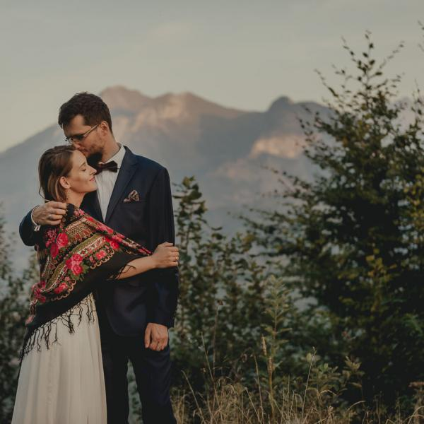 Aneta & Marcin - Sesja ślubna wgórach