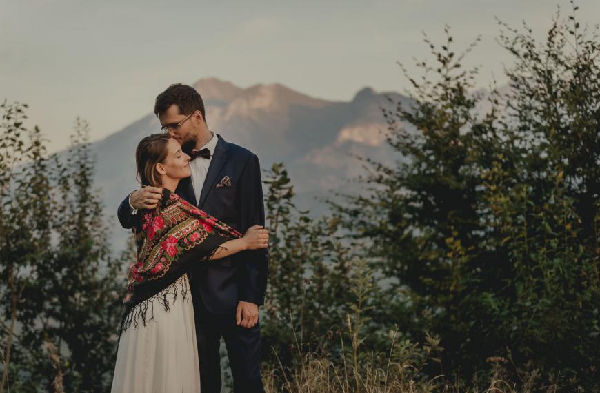 Aneta & Marcin – Sesja ślubna wgórach