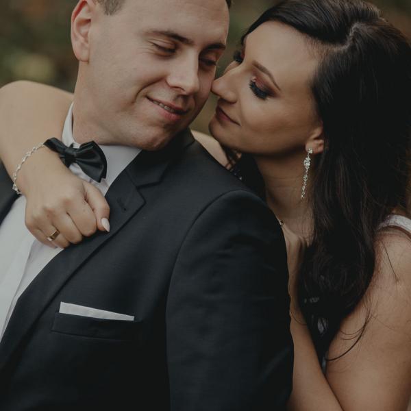 Patrycja & Krzysiek - (późno)jesienna sesja ślubna