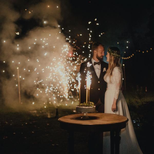 Kasia iGrześ - przyjęcie weselne wplenerze