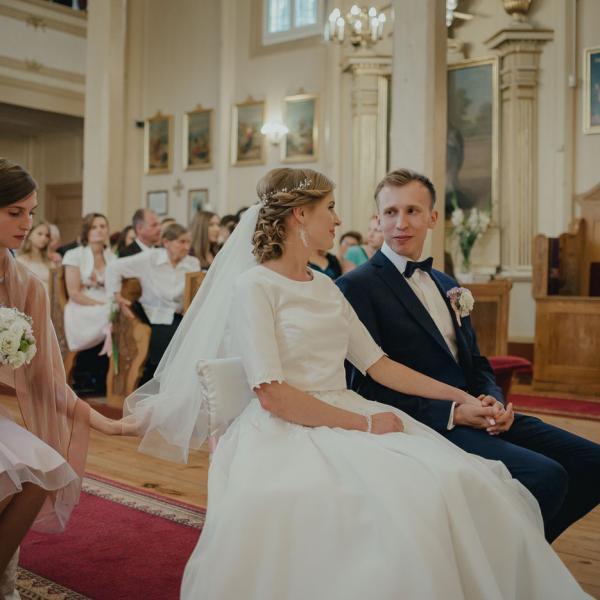 Pełen wzruszeń reportaż ślubny Pauliny iMichała