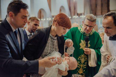 Chrzest Święty Różyczki