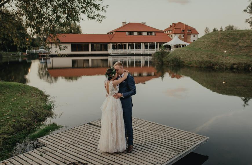 Ewelina iMaciej – stylowe wesele wBobrowym Dworze