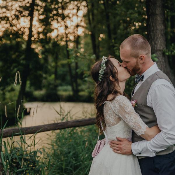 Gosia iPiotr - plenerowe wesele wZbójnej Górze