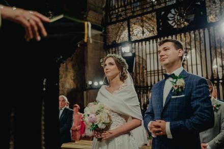 Justynka iDominik – wzruszający Ślub naJasnej Górze
