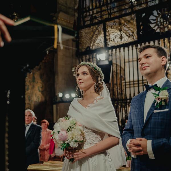 Justynka iDominik - wzruszający Ślub naJasnej Górze