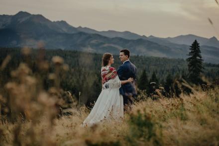 Justynka iDominik – sesja ślubna wTatrach