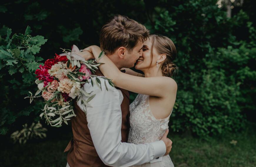 Kasia iMichał – wesele wstylu prowansalskim wHotelu Borowina